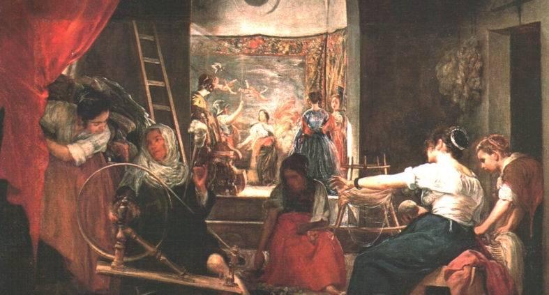 Le filatrici (La favola di Aracne)1657 Milano
