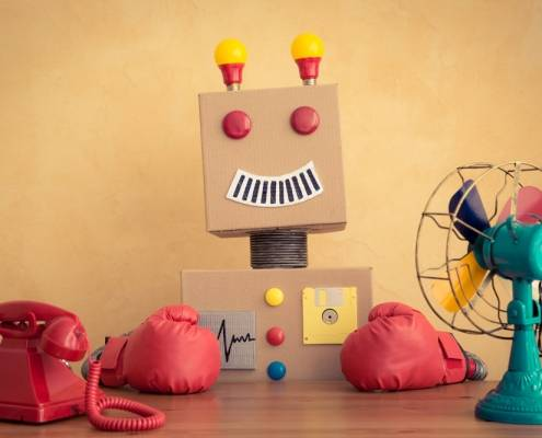 robot badante digitale colf aes Milano